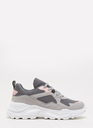 F By Fabrika Kadın Bej Sneakers ROYAL Pudra